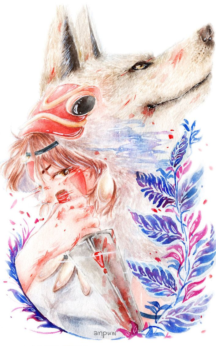 Princess Mononoke by Ghibli Studio enjoy