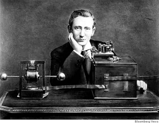 June 2, 1896 	Guglielmo Marconi patents the radio  | Italian inventor Guglielmo Marconi is pictured shortly after his ...