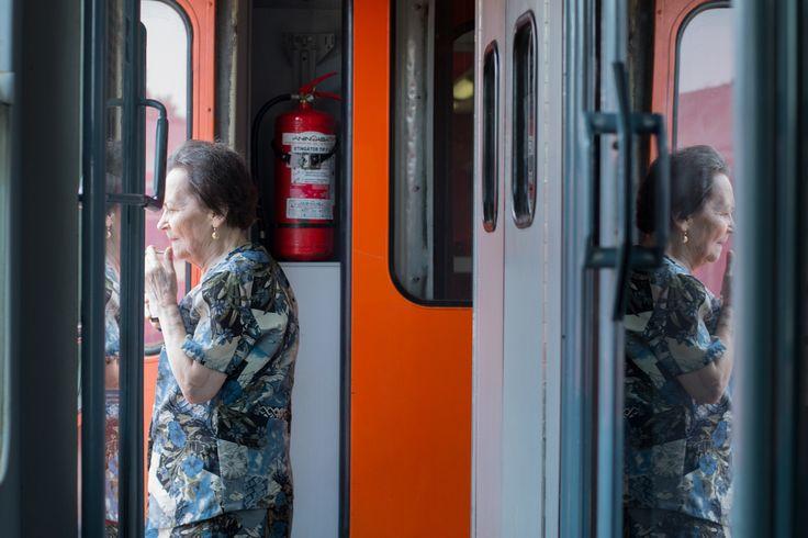 Street Photography Train Bogdan Mosorescu
