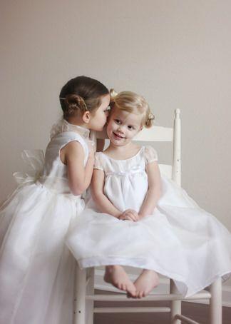 New york bridal fashion week luxury designer flower girl dresses littleeglantine.com