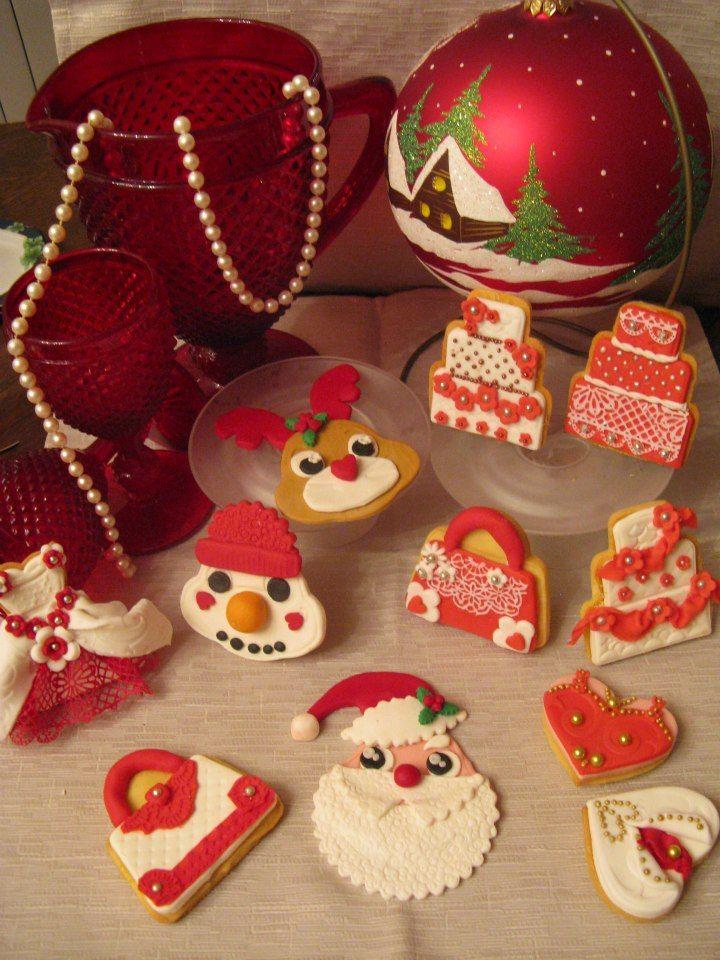 biscotti decorati Natale. Appendibili per albero di Natale  o segnaposto di Omar Busi