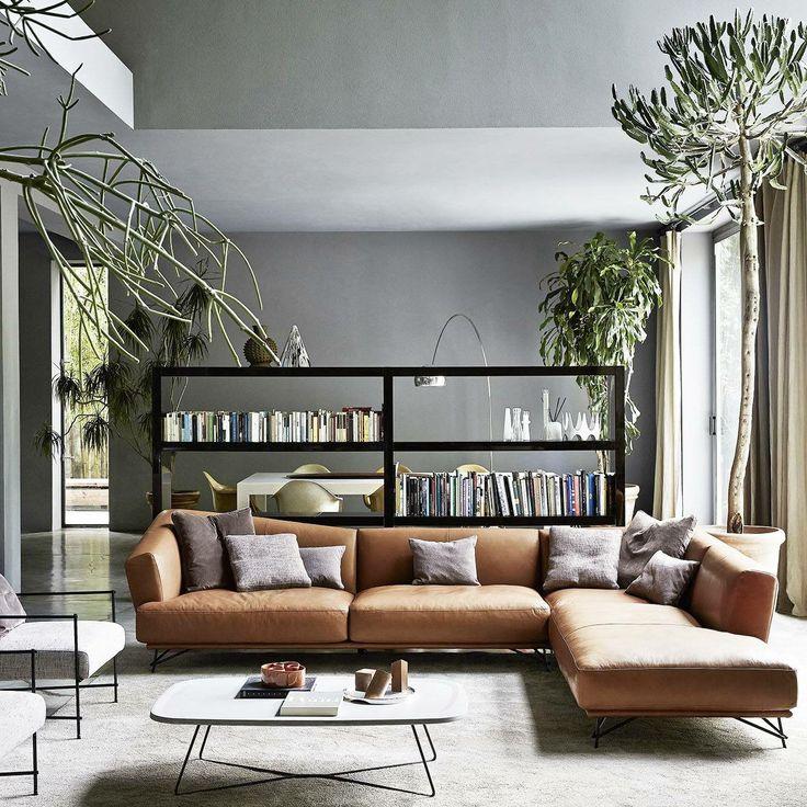 Wohnzimmer Sofatische Zeitgenssisches Design Wohnung Leben Floralen Italien Melbourne Innenarchitektur