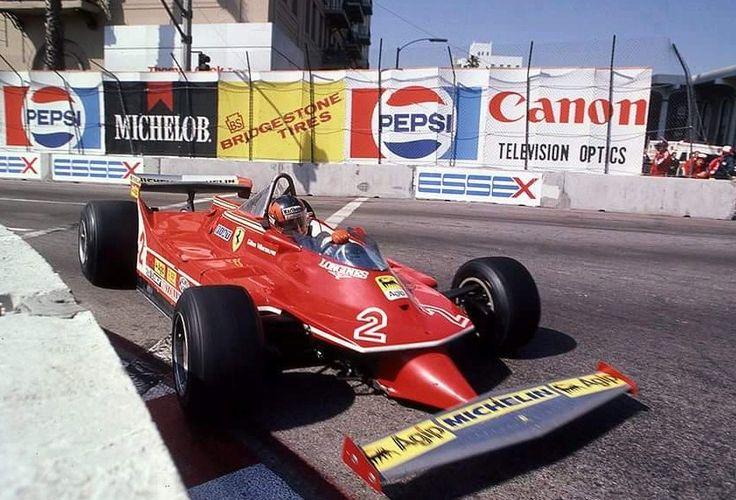 Gilles Villeneuve Ferrari 1980