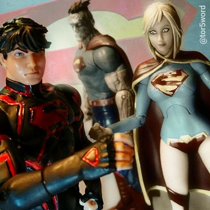 From my collection #Superboy #Supergirl and #Bizarro from #DCcollectibles teaming up for a picture . .  #DCcomics #New52 #Superman #ManOfSteel #ACBA #ArticulatedComicBookArt #toysandhobbies #toysphotography #figures #collection #juguetes #collecto  #movies #art #picture #photooftheday #picoftheday #instadaily #instalike #like #bestoftheday #amazing