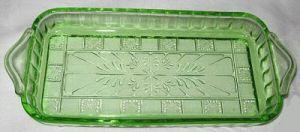 Doric pattern, Jeannette Glass Company