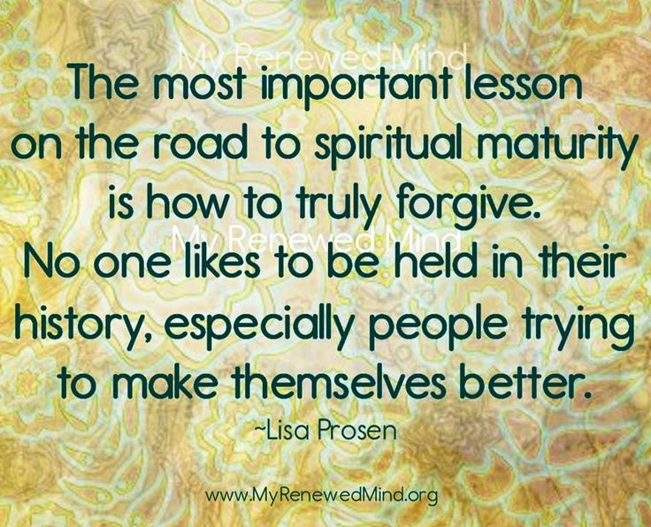 how to truly forgive and forget