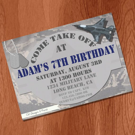 it's similar to the one I designed. Huh! Flying High Party Invitation - Digital File