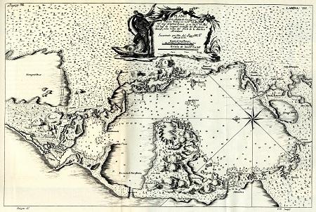 2. La bahía de Cartagena de Indias en la época del descubrimiento y conquista. www.cartagenadeindiaslive.com