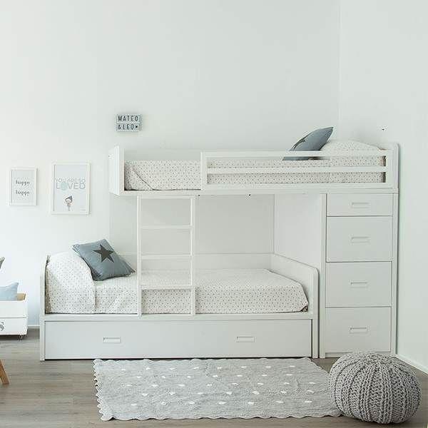 Dormitorio infantil compartido