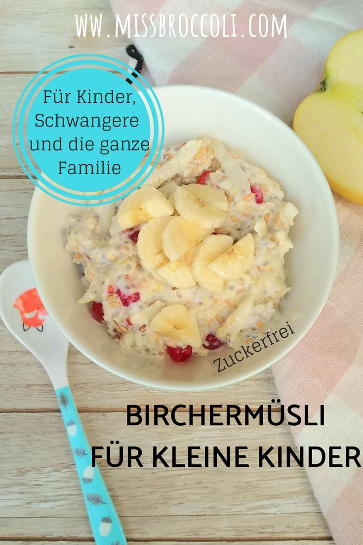 Bircher muesli – original and with vegetables – Miss Broccoli Mama Foodblog
