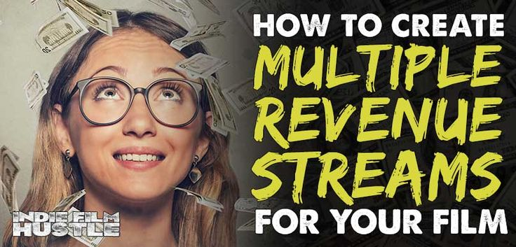 Creating multiple revenue streams for your indie film is not as hard as you might think.