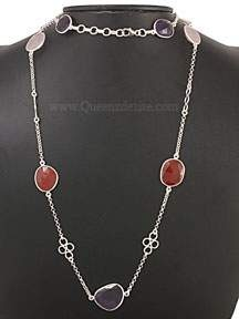 Beautiful 92.5 Sterling Silver Necklace