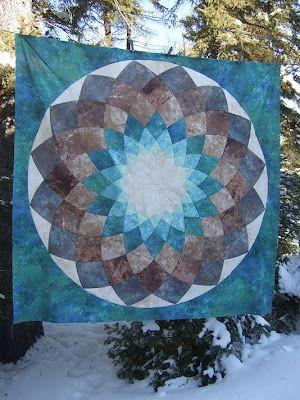 48 Best Dahlia Quilts Images On Pinterest Mandalas Hats