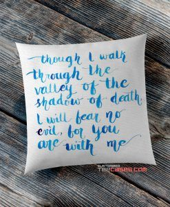 Bible Verses Quotes pillow case, Custom Pillow case, Square Rectangle pillows case