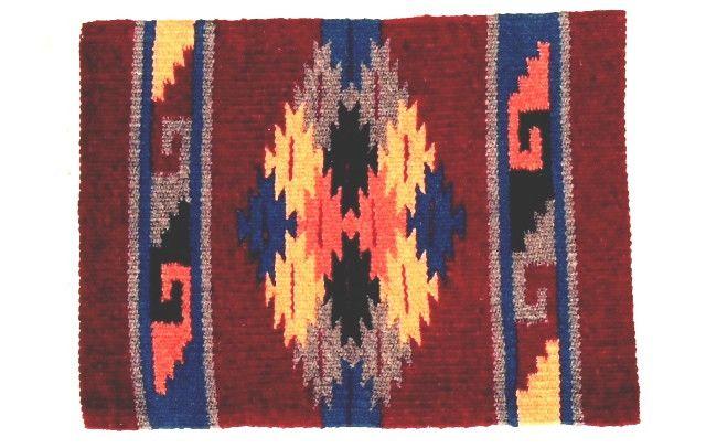 (EPHIM1520-5) Woolen Southwestern Placemat