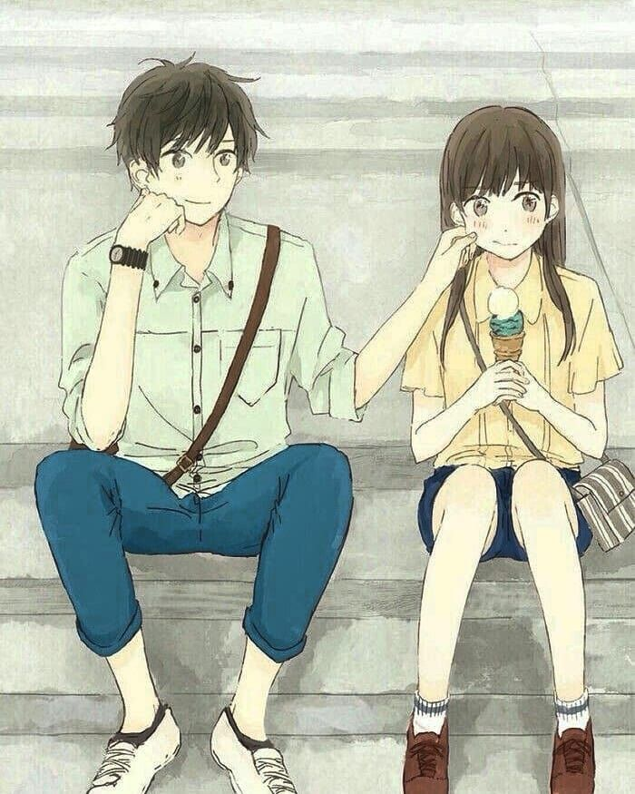 Pin On Meab Cute anime couple wallpaper 1920x1080