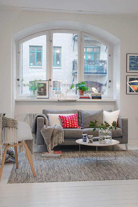 Paredes y suelo de madera blanco - Estilo nórdico | Blog decoración | Muebles diseño | Interiores | Recetas - Delikatissen