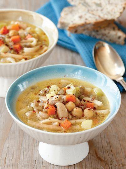 Sebzeli bakliyat çorbası