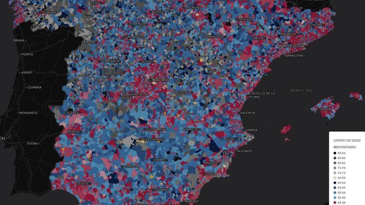 ¿Cuál es la edad más habitual de tus vecinos? Descúbrelo barrio a barrio en este mapa. Noticias de España. La brecha generacional también se observa en las ciudades. Mientras los mayores optan por el centro, las familias jóvenes se desplazan a la periferia por los precios más baratos