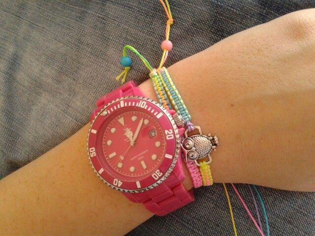 Bileklik macrame bracelet makrome baykuş owl