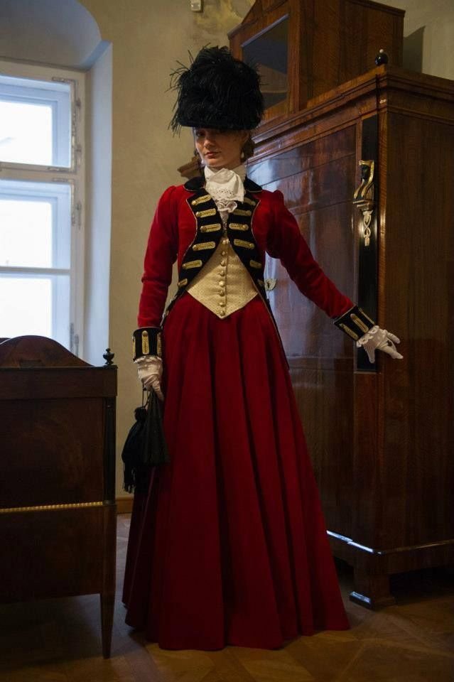 gown made after portrait of Lady Worsley