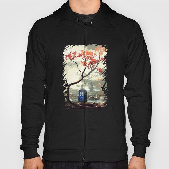 Tardis With A Tree - $42