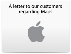 Impressive move by Tim Cook apologizing for the iOS 6 maps. It will be interesting to get the real story on what happened here in a few years as it unfolds.. Nonetheless, bravo Mr. Cook for taking the high road here. I forgive you ;)
