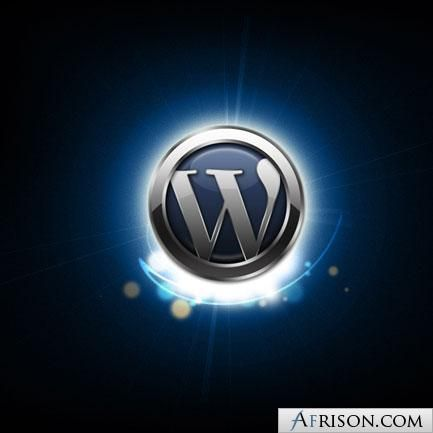 wordpress logo shine1 260x260 photo