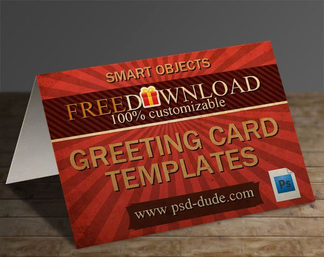 Photoshop Greeting Card Template Best Of 3 Greeting Card Templates With Shop Free Psd File Birthday Card Template Greeting Card Template Card Templates