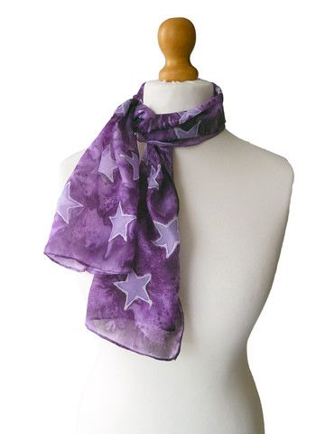 Silk Square Scarf - Calla Lillies by VIDA VIDA