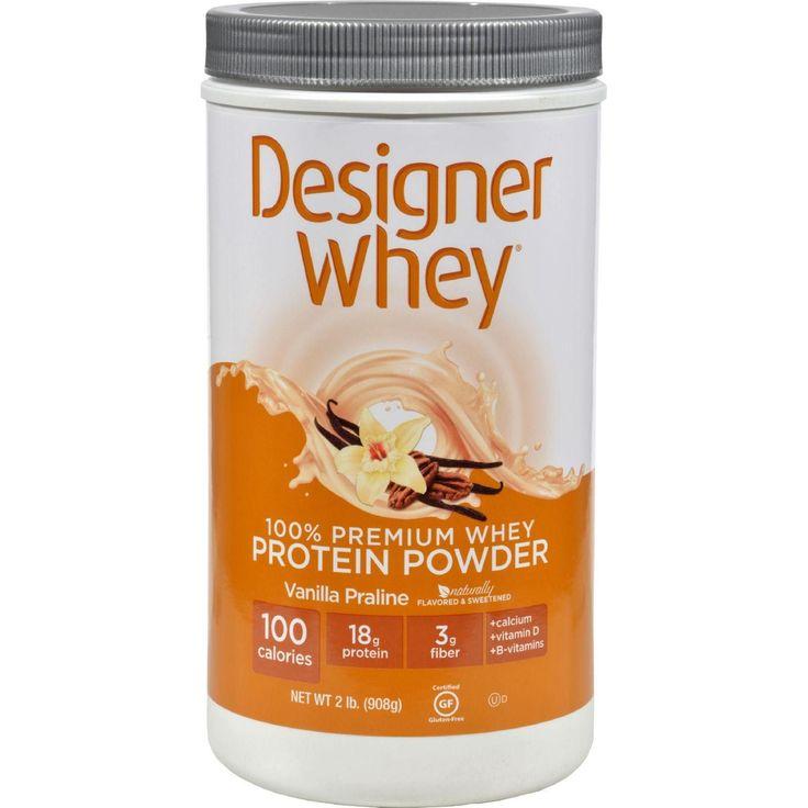Designer Whey Protein Powder Vanilla Praline - 2 Lbs