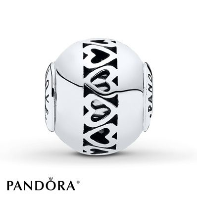 PANDORA ESSENCE Charm Love with Hearts Sterling Silver