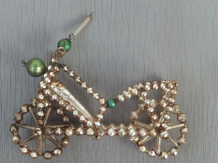 Gablonzer Christbaumschmuck / Weihnachtsschmuck, Fahrrad, Motorrad   eBay
