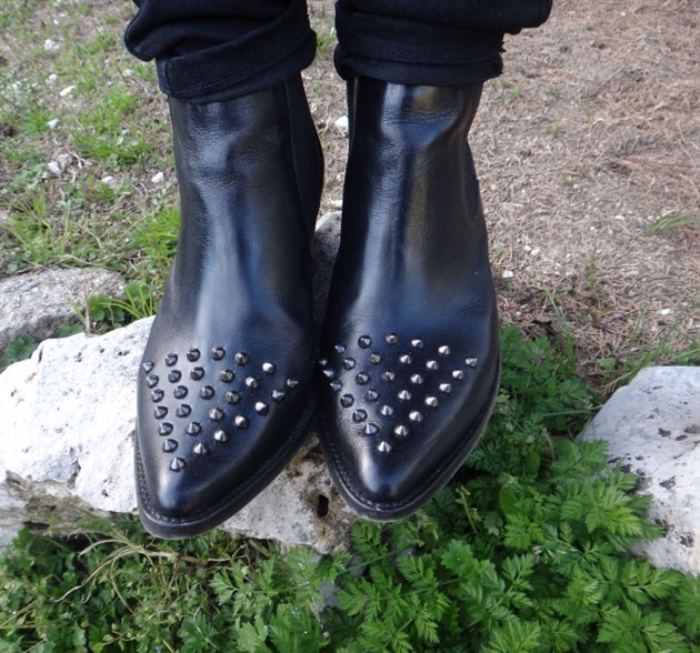 Ainsssss, me encantan los botines que lleva hoy Paula Echevarría en su blog.... I love