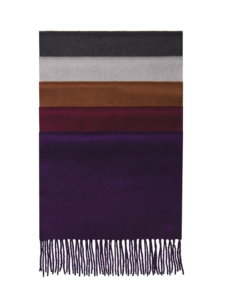 Men's mufflers in a kaleidoscope of fall colors, each $24.99.  Executive Menswear | 703.413.8888