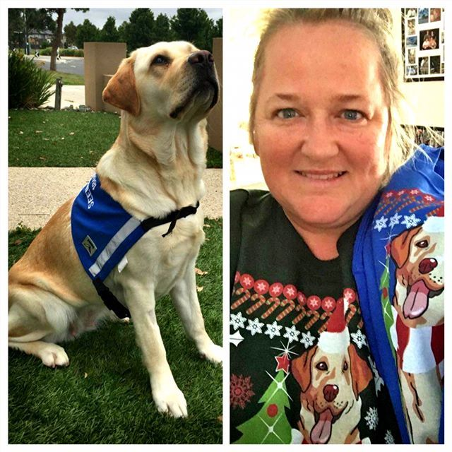 Christmas theme with lovely doggy sweater! Big smile to Tracey and her dog Brownie in Australia! Hope our sweater can make your Christmas seems more wonderful!