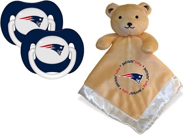 Free NFL Gear for Babies! {Blanky Bear + Pacifier} at TheFrugalGirls.com