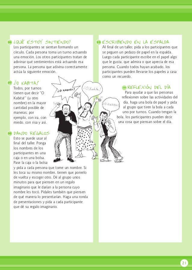 700 Dinámicas Dinámicas Para Adultos Educacion Emocional Infantil Trabajar Con Niños