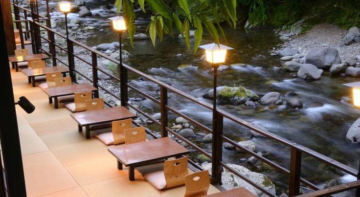 Tatsuta Ryokan (Izu) $196 Offering free WiFi access at public areas and indoor/outdoor hot spring baths, Tatsuta Ryokan is located a 5-minute walk from Yugashima Onsenguchi Bus Stop...