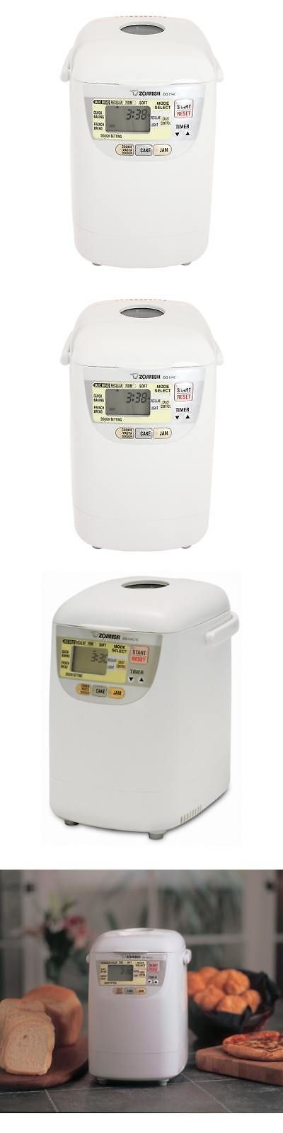 Bread Machines 20669: Zojirushi Bb-Hac10 Home Bakery 1-Pound Loaf Programmable Mini Breadmaker -> BUY IT NOW ONLY: $196.01 on eBay!