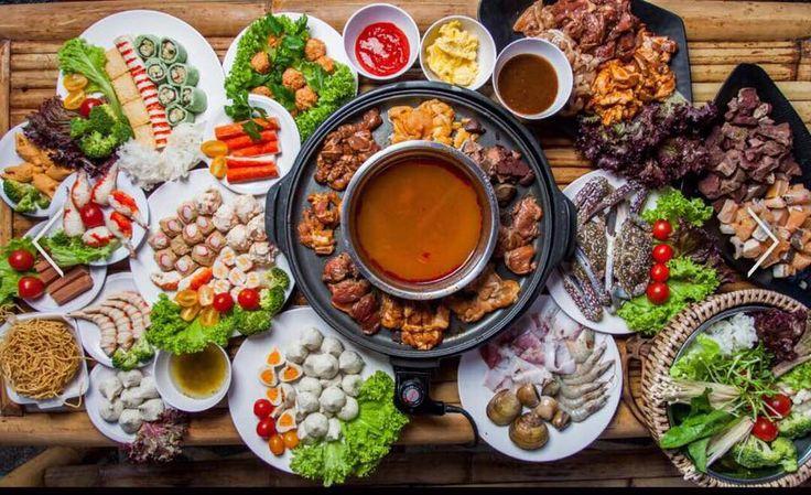 Ramadhan Special Iftar Berasap Di Pondok Buluh Tepi Pantai Di CVU Ipata Steamboat & Grill
