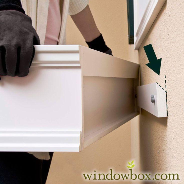 A Janela Box Malha w / Grampo Sistema de Montagem - coleção da propriedade caixas de janela - caixas de janela - Windowbox.com