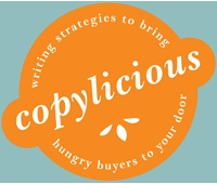 Copylicious. Writing strategies to bring hungry, hungry buyers to your doorstep. (Recommended by Sarah J Bray)