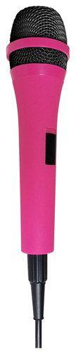 Singing Machine - Unidirectional Dynamic Microphone, Pink