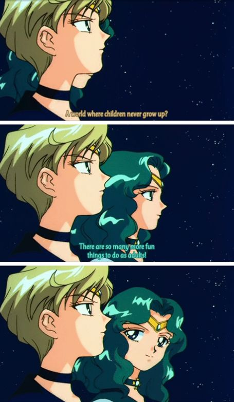 Sailor Neptune Knows What's Up