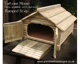 Tortoise House Ramp