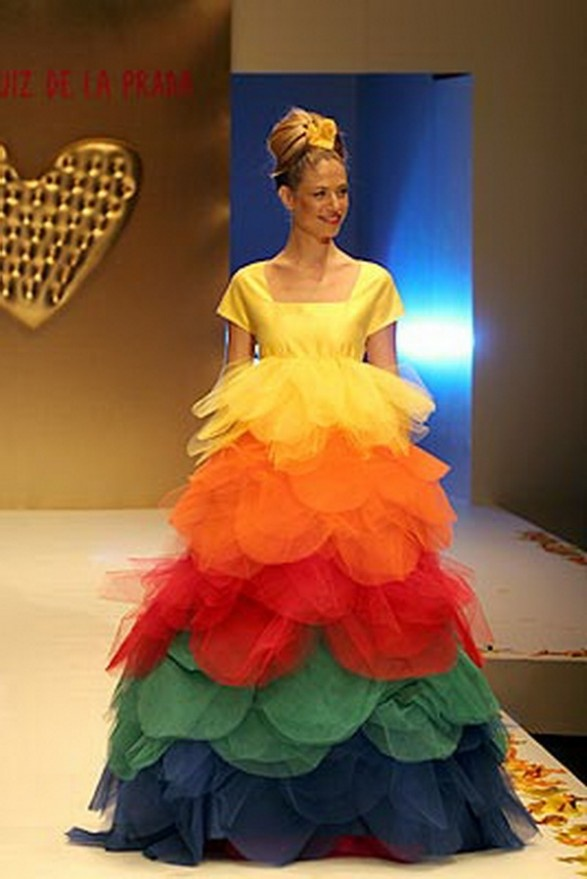 38 best ugly ugly weddings and dresses images on pinterest taste the rainbow junglespirit Choice Image