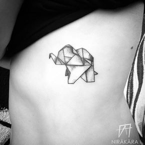 Origami Elephant Tattoo Meaning Origami Tutorial Lets Make It