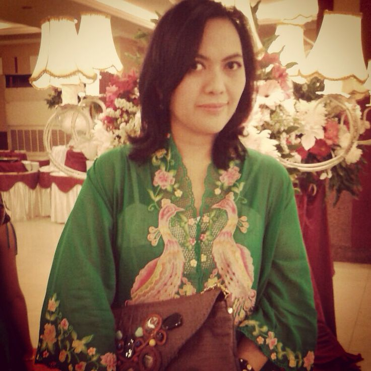 Kebaya bordir cendrawasih Made in Didi Kebaya Encim