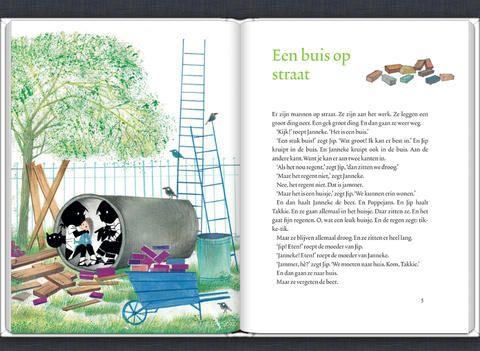 Jip en Janneke spelen buiten. Lees nu het e-book op je iPad!